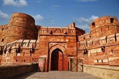 Agra Fort, Agra, Uttar Pradesh, India Royalty Free Stock Photo