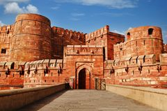 Agra Fort, Agra, Uttar Pradesh, India Stock Photography