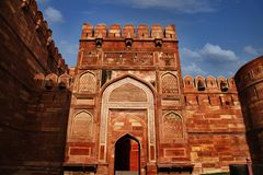 Agra Fort, Agra, Uttar Pradesh, India Royalty Free Stock Image