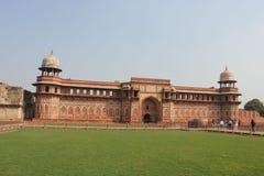 Agra fort, architektoniczny szczegół Zdjęcie Stock