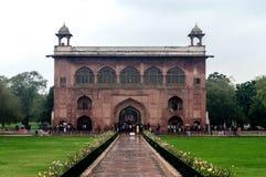 agra fort bramy indu czerwone fort w pałacu czerwonej Obraz Royalty Free