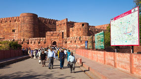 Agra Fort Entrance Royalty Free Stock Image