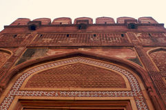Agra Fort India. Building exterior of religious monument Stock Images