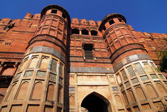 Agra fort India Zdjęcia Stock