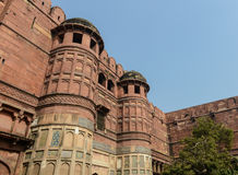 Agra Fort in India Stock Images