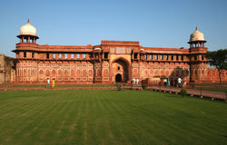 agra fort india Royaltyfria Foton