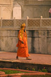 Agra Fort India Holy man Stock Photos