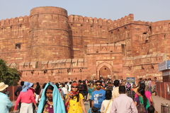 Agra Fort, India Stock Image