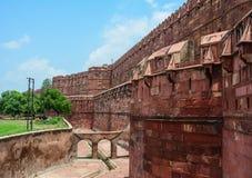 Agra-Fort in Agra, Indien lizenzfreie stockfotos