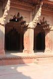 Agra-Fort, Indien lizenzfreie stockfotografie