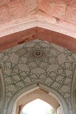 Agra Fort, indoor architectural detail Stock Image