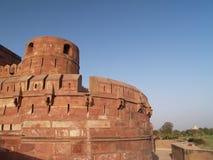 agra fort indu poza czerwonym Fotografia Royalty Free