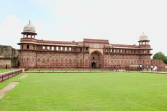 Agra Fort - Jehangirs Palace stock image