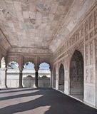 Agra Fort - The Marble Khas Mahal. The Fort at Agra Akbar is among the many Mughal Architectural highlights to be seen in Agra. The richness and artistry of Royalty Free Stock Photography