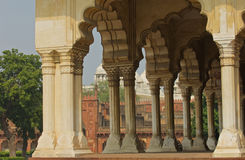 Agra Fort Meeting Court Royalty Free Stock Images