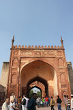 Agra Fort and people Stock Images