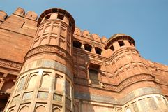 Agra fort, Agra, Uttar Pradesh, India Zdjęcia Royalty Free
