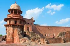 Agra Fort in Uttar Pradesh, India Stock Photography