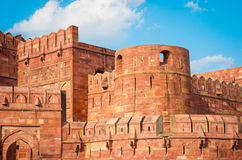 Agra Fort in Uttar Pradesh, India. Stock Image