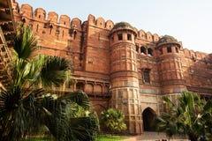 Agra fort w Agra Obrazy Royalty Free
