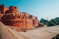 Agra fort w Agra, India Obraz Royalty Free
