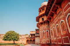 Agra fort w Agra, India Obrazy Royalty Free
