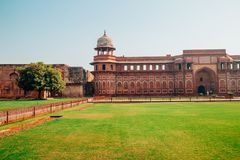 Agra fort w Agra, India Fotografia Stock