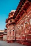 Agra fort w Agra, India Zdjęcia Stock