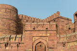 Agra fort w India zdjęcia stock