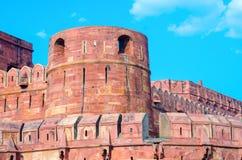 Agra fort w Uttar Pradesh, India Fotografia Stock