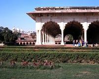Agra fortu budynek, India Zdjęcia Royalty Free
