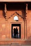 agra fortu czerwień Obraz Stock