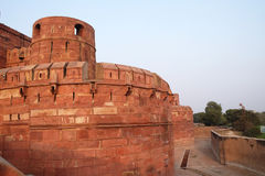 agra fortu czerwień Obraz Royalty Free
