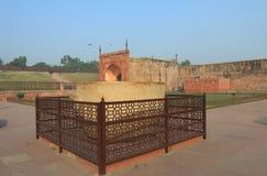 Agra fortu dziejowa architektura Agra India Obraz Stock