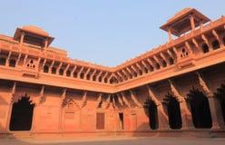 Agra fortu dziejowa architektura Agra India Obrazy Stock