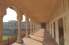 Agra fortu dziejowa architektura Agra India Fotografia Stock