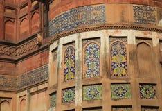 Agra fortu dziejowa architektura Agra India Obraz Royalty Free
