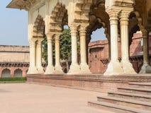 Agra fortu filary Zdjęcie Royalty Free