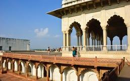 agra fortu ind jahani mahal shah Fotografia Royalty Free