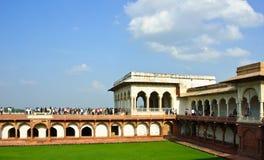 agra fortu ind jahani mahal shah Zdjęcia Royalty Free