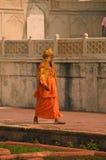 Agra fortu India Święty mężczyzna Zdjęcia Stock