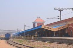 Agra fortu pociągu stacja kolejowa Agra India Zdjęcie Royalty Free