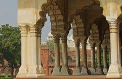 Agra fortu spotkania sąd Obrazy Royalty Free