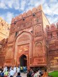 Agra fortu utrzymania brama Obraz Stock
