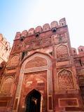 Agra fortu utrzymania brama Obrazy Stock