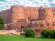 Agra fortu utrzymania brama Obrazy Royalty Free