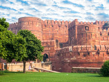 Agra fortu utrzymania brama Obraz Royalty Free