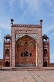 Agra. The Historical and Architectural complex of Sikandra the tomb of Mughul Emperor Akbar. Agra. One of the buildings of the Historical and Architectural Stock Photo