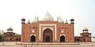 agra ind mahal meczetowy taj Zdjęcia Royalty Free