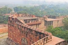 Agra, India, Czerwony fort, element budynek Obraz Royalty Free